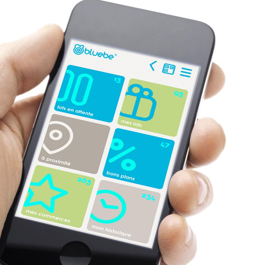 Aplicación móvil BLUEBE
